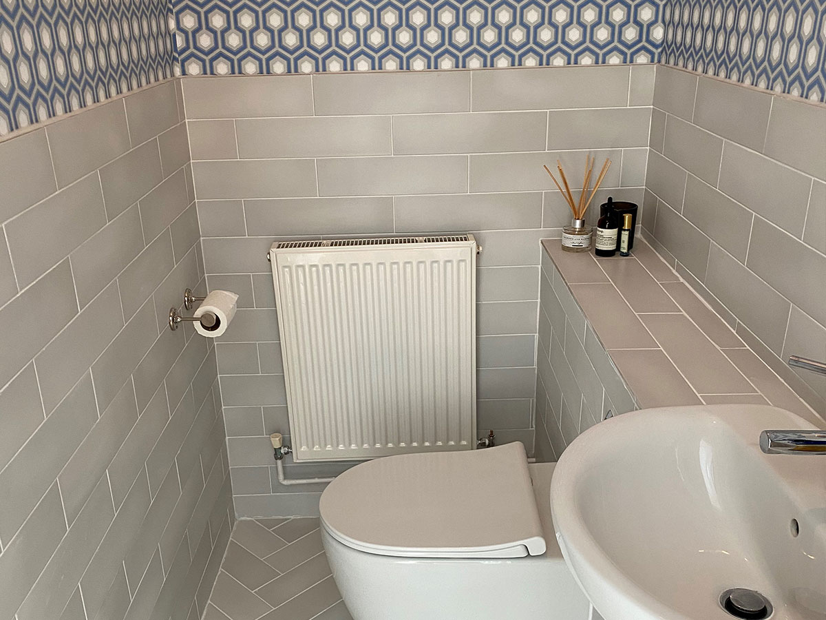 Boyden Tiles project bathroom in South London